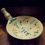 Colander in Ceramic Art
