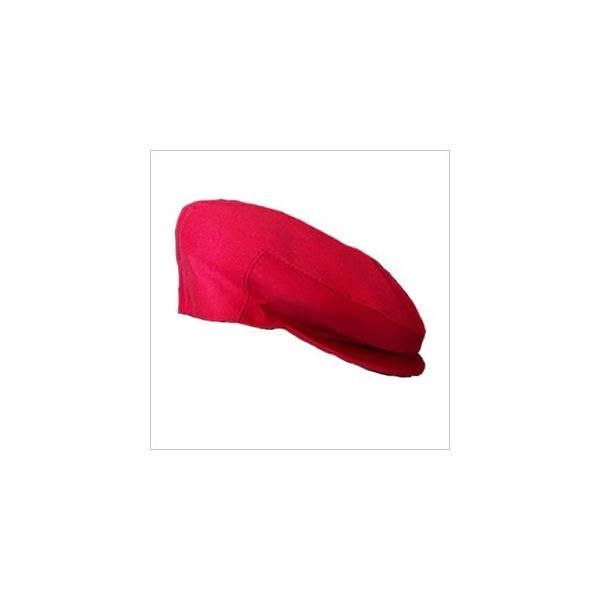 Coppole Siciliane in Cotone Rosso