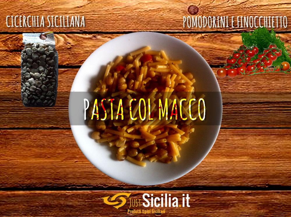 Pasta col Macco di Cicerchia Siciliana