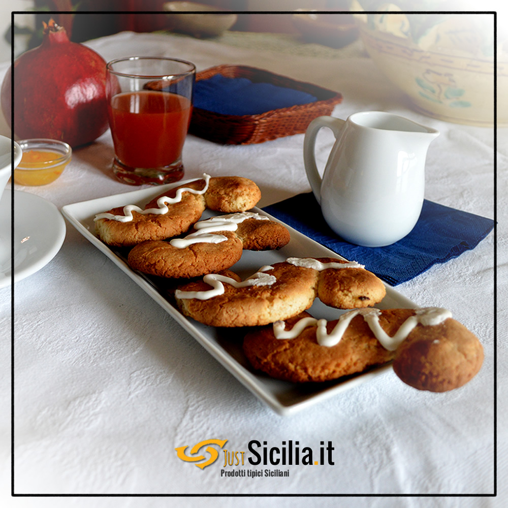 traditional biscuits from Monreale Sicily