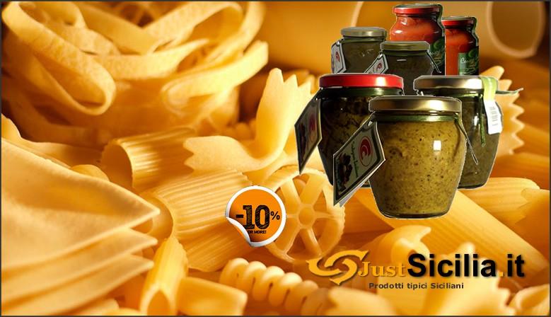 Sicilian Typical Pasta Condiments