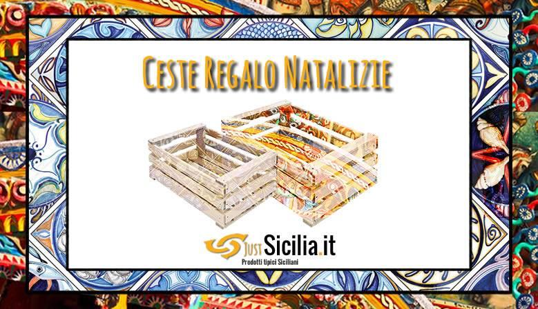 Ceste Regalo Natalizie Prodotti Tipici Siciliani