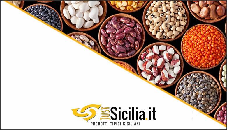 Vendita Legumi Tipici Siciliani