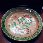 Dish in Ceramic from Burgio