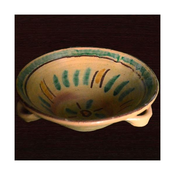 Centrotavola in Ceramica di Burgio
