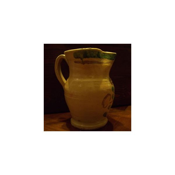 Pitcher in Ceramic Art from Burgio