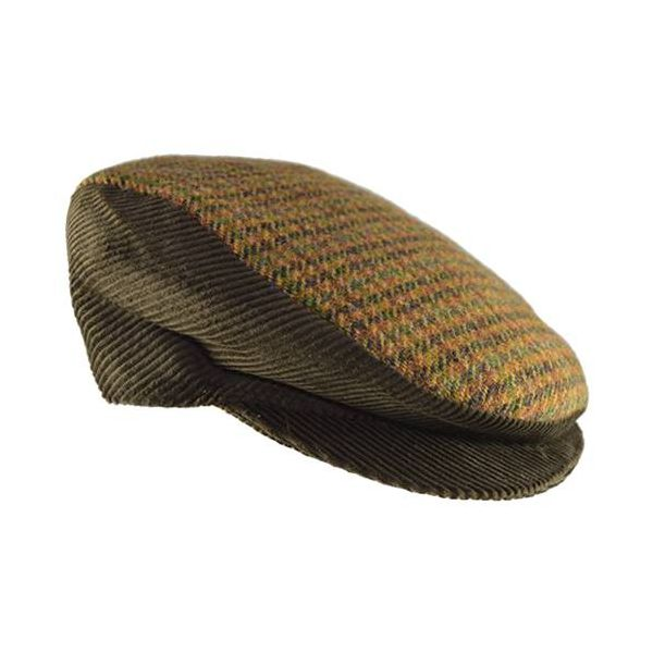 Sicilian Coppola Hats Velvet and Wool Brown