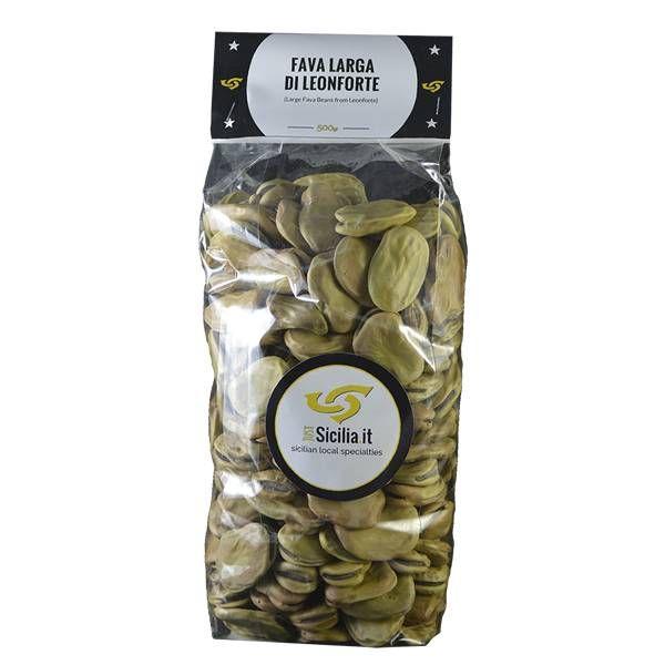 Large Fava beans from Leonforte