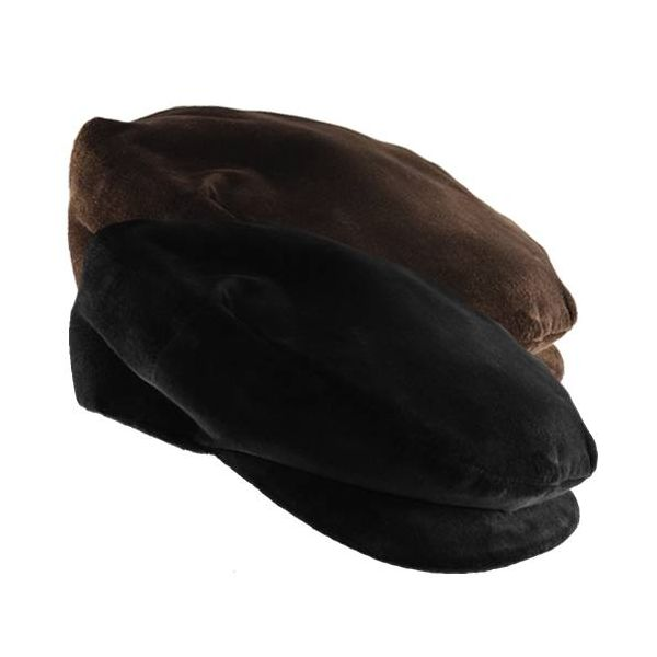 Sicilian Coppola Hat in Smooth Velvet