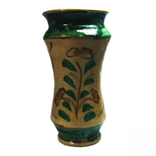 Vaso Alberello in Ceramica Artistica di Burgio