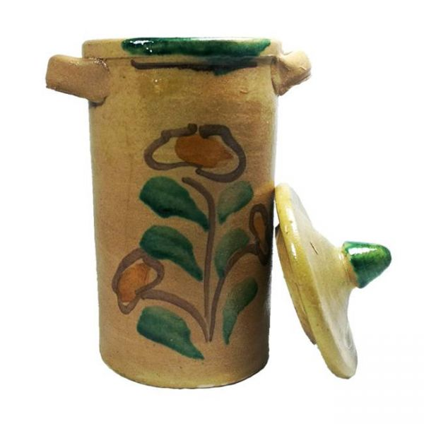 Canister in Ceramic from Burgio
