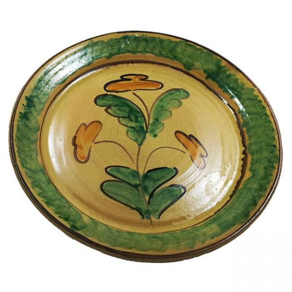 Dish in Ceramic from Burgio