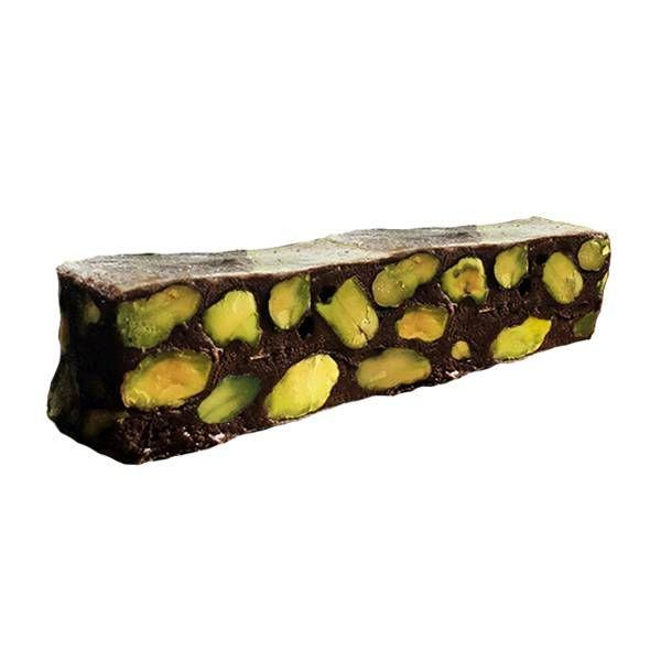 Torrone Morbido al Cacao e Pistacchi