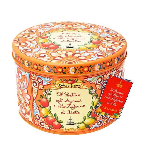 D&G and Fiasconaro Panettone Citrus