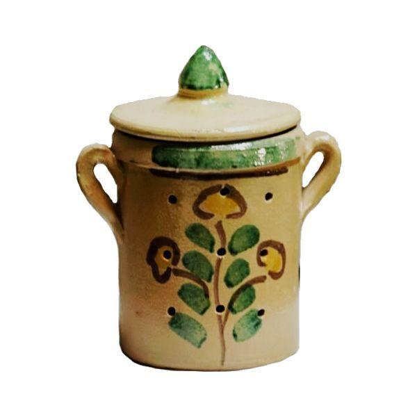Porta Aglio in Ceramica di Burgio