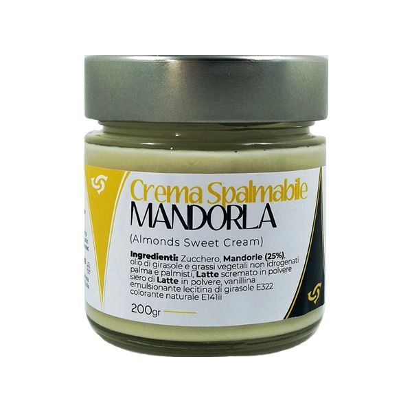 Crema di Mandorle Siciliane