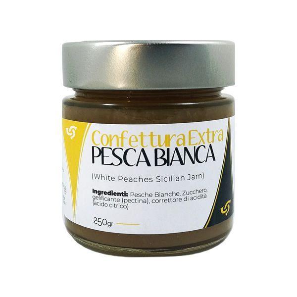 Sicilian White Peaches Jam