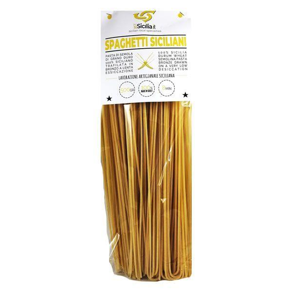 Sicilian Spaghetti alla Chitarra Pasta