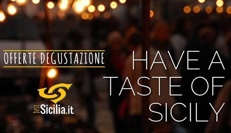 Selezione Prodotti Tipici Siciliani Offerta Degustazione
